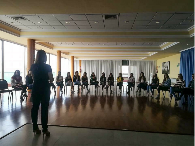 Coaching de Equipos Miss Norte 2018